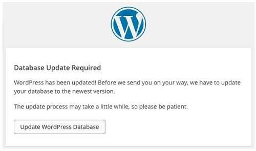wordpress程序升级完成
