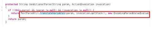 invocation被OGNL库函数解析和执行